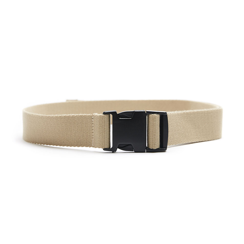 OVERSIZED BUCKLE BELT beige