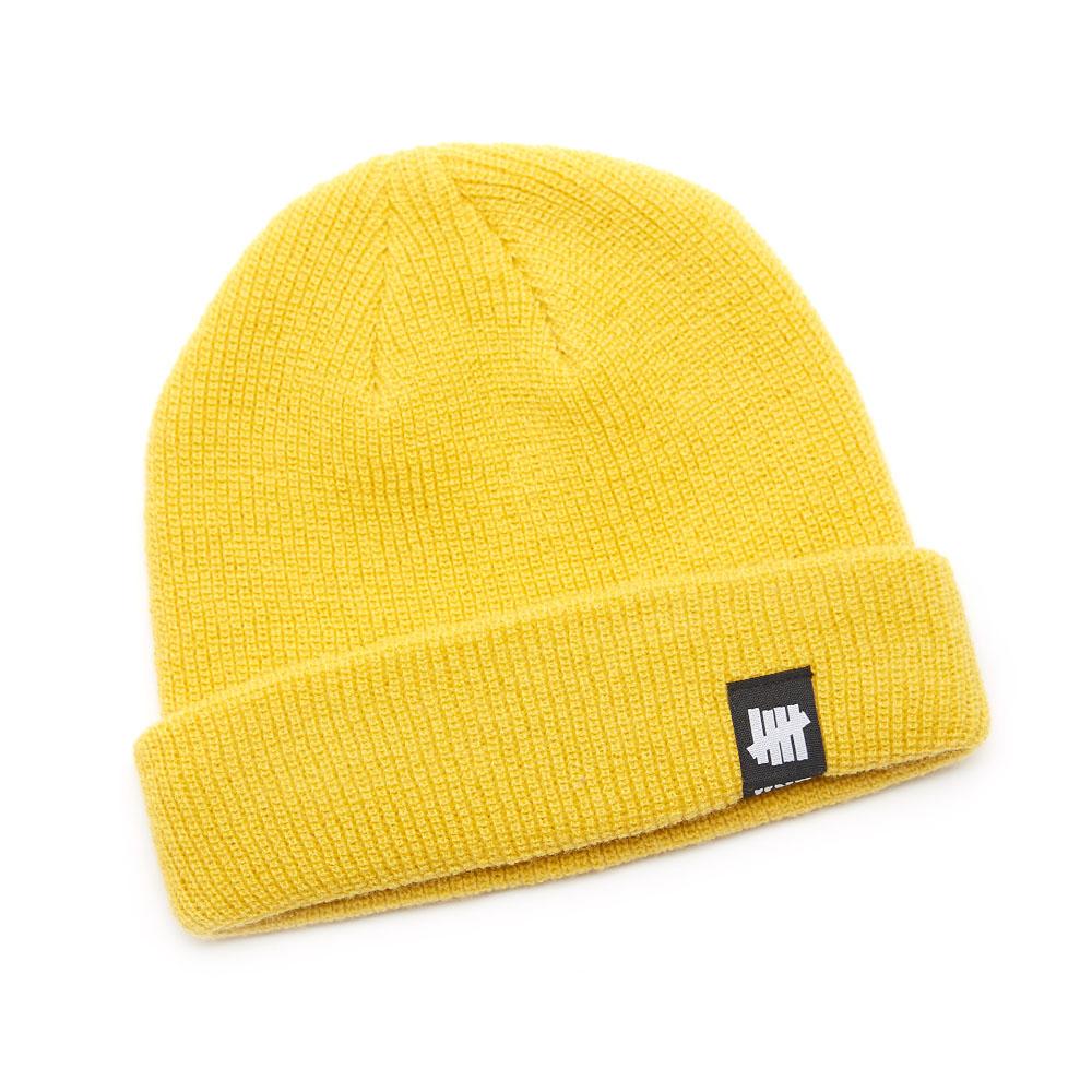 FIST LOGO SHORT BEANIE yellow