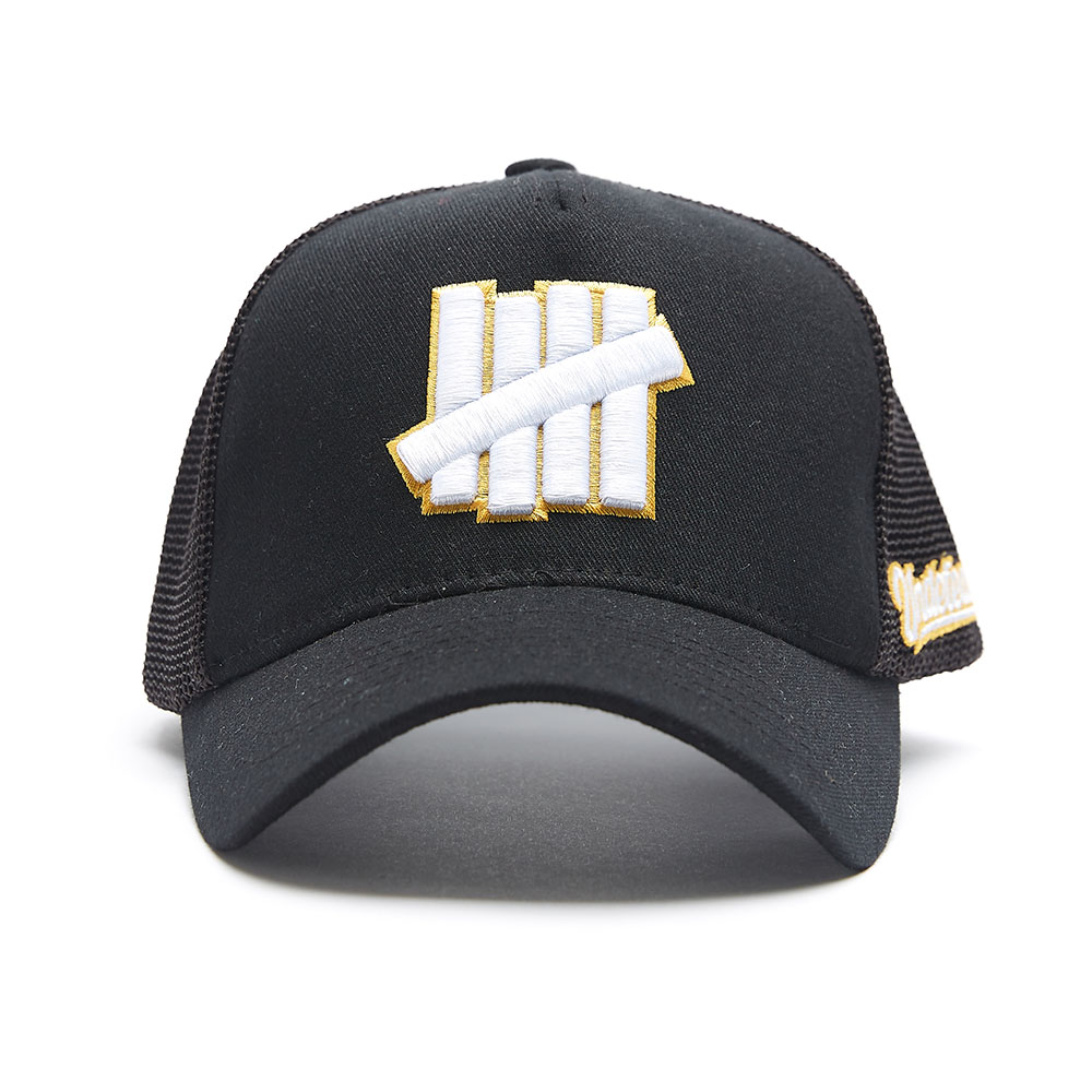 UNDFTD LOGO MASH CAP black
