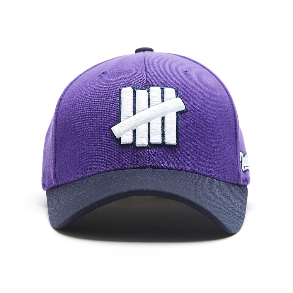 UNDFTD LOGO BASEBALL CAP purple