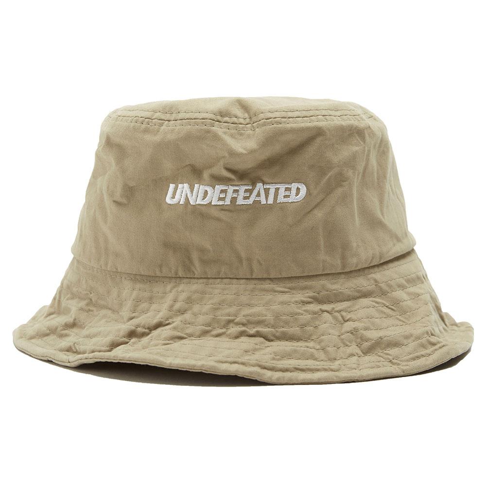 U-LOGO WIRE BUCKET HAT beige