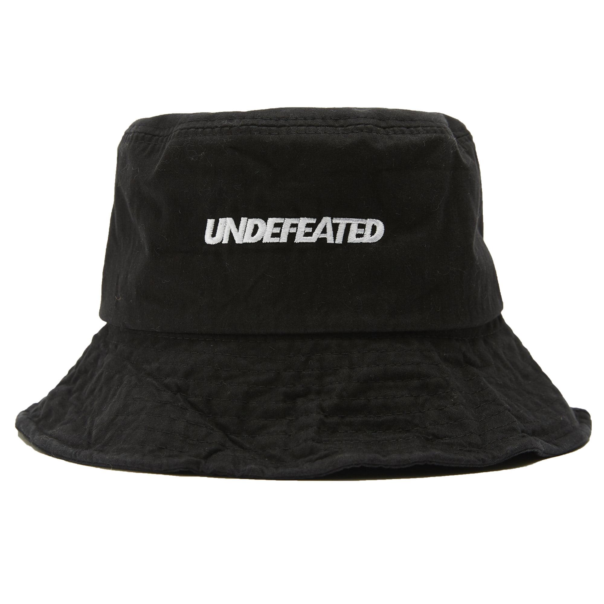 U-LOGO WIRE BUCKET HAT black