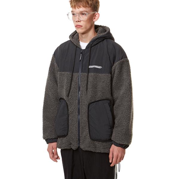 [입점특가]Heavy Fleece Hood Zip-up GRAY
