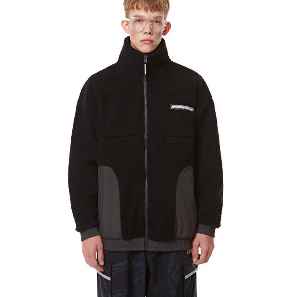 [입점특가]Heavy Fleece Zip-up BLACK