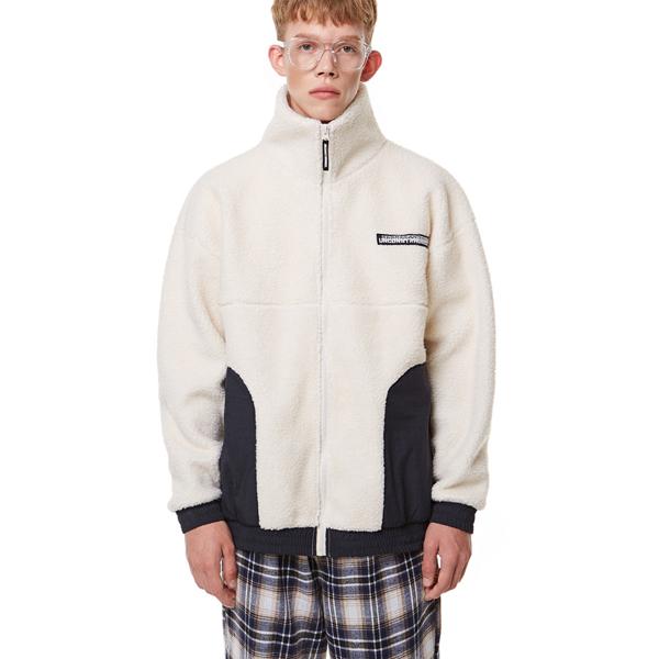 [입점특가]Heavy Fleece Zip-up IVORY