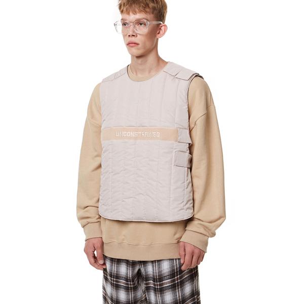 [입점특가]Unisex Tech Padding Vest BEIGE
