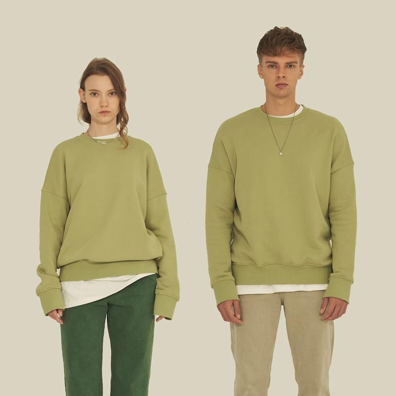 클래식 스웨트셔츠 OLIVE GREEN