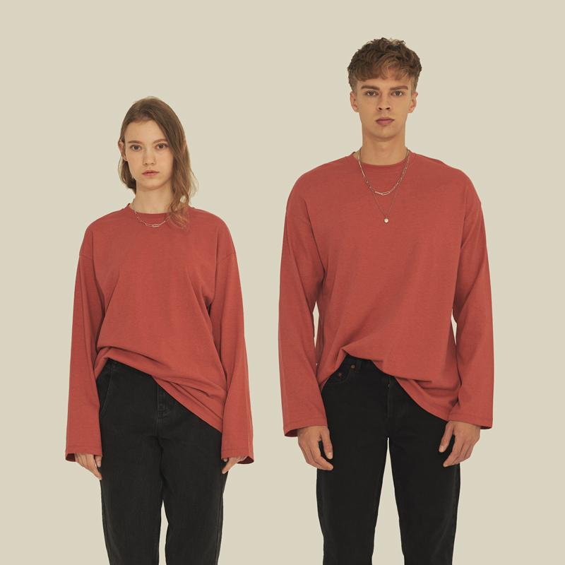 클래식 루즈 티셔츠 DARK RED