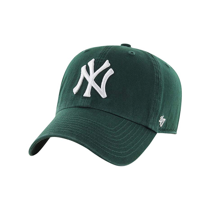 [국내]47브랜드 빅로고 NY 양키스 클린업 다크그린 / DG
