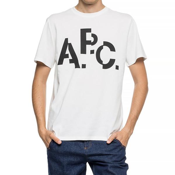 [해외]APC 아페쎄 MEN DECALE H 반팔티셔츠 CODCS-H26829