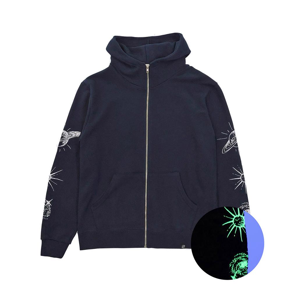 [입점특가][AOX] Space hoodie zip-up (Navy)
