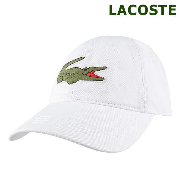 [국내배송]라코스테 볼캡 모자 화이트 (RK8217-001)