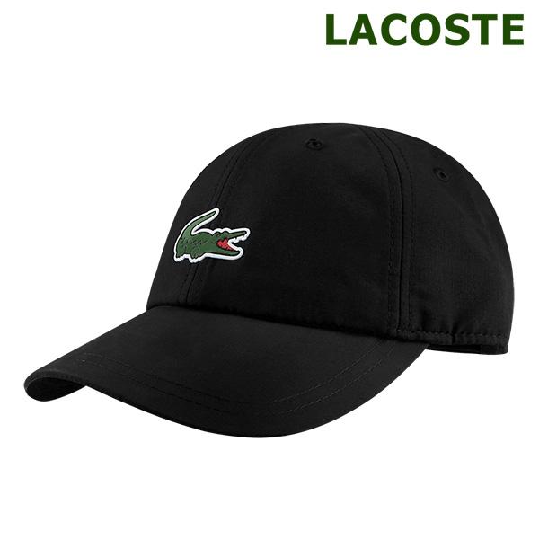 [국내배송]라코스테 스포츠 볼캡 모자 블랙 (RK2464-031)