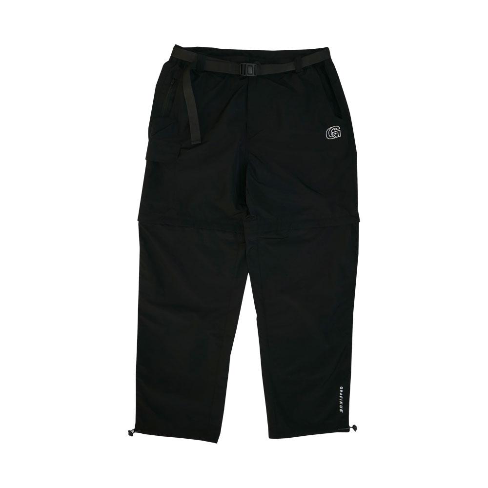 LEG REMOVABLE PANTS BLACK