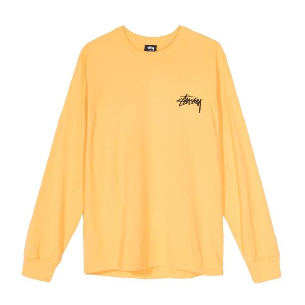 [해외]스투시 라운지 롱슬리브 티셔츠 오렌지