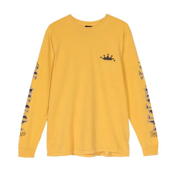 [해외]스투시 IRIE 롱슬리브 티셔츠 머스타드