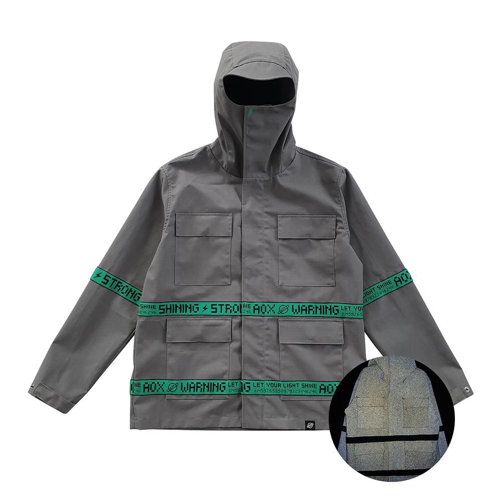 [단독할인][AOX] AOX line reflective jumper