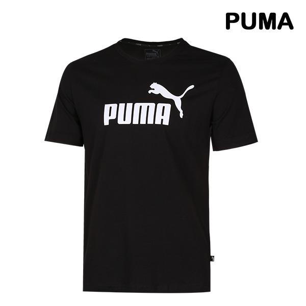 [국내배송]푸마 에센셜 로고 반팔티셔츠 (851740-01)