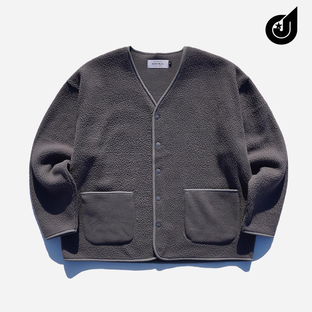[기획특가][다이클레즈] 부클 오버핏 가디건 차콜 YSOT5124