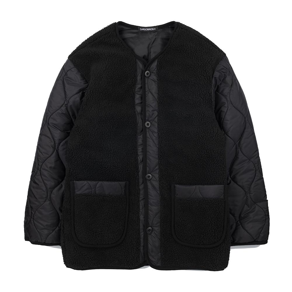 CB Fleece Jacket (BLACK)