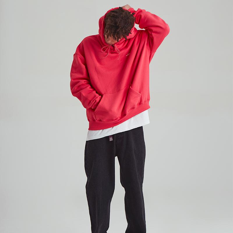 [unisex] signature hoody (cherry red)