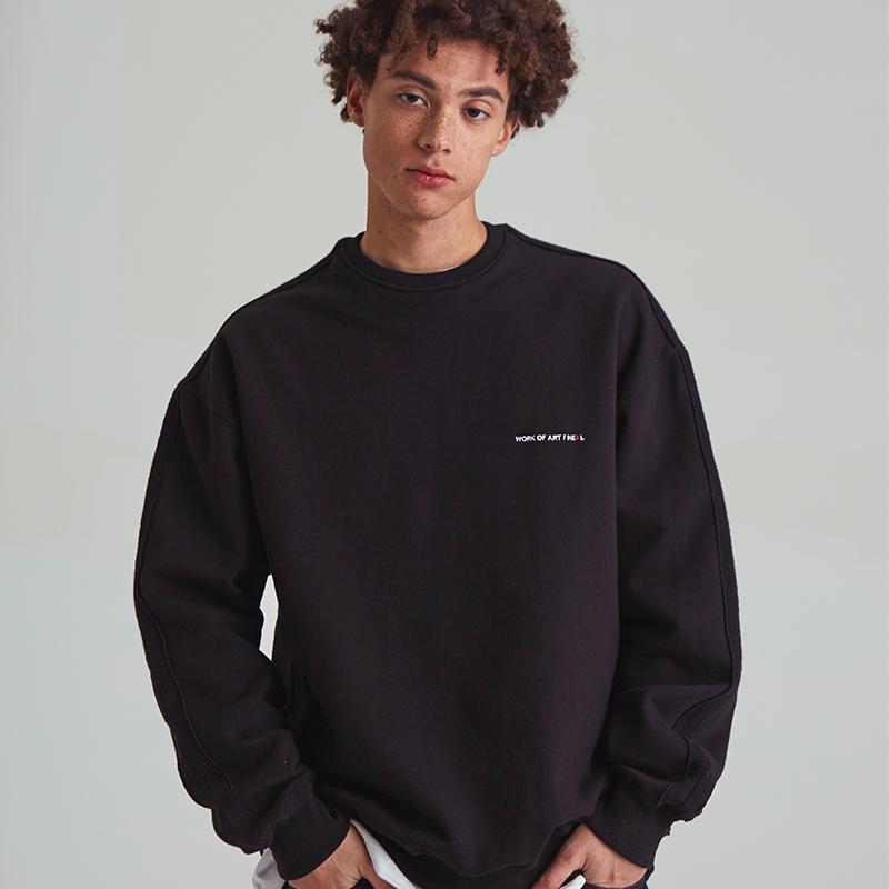 [unisex] reverse mtm (black)