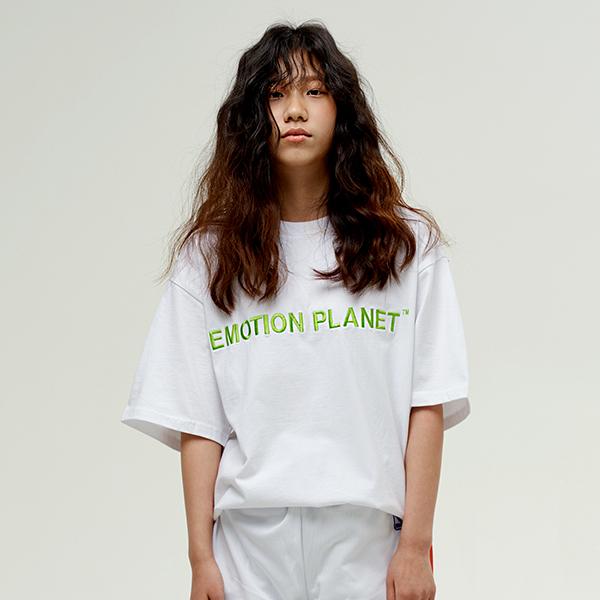베이직 로고 티셔츠 WHITE