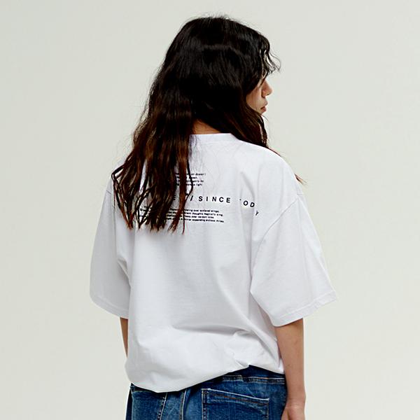 백 서드 티셔츠 WHITE