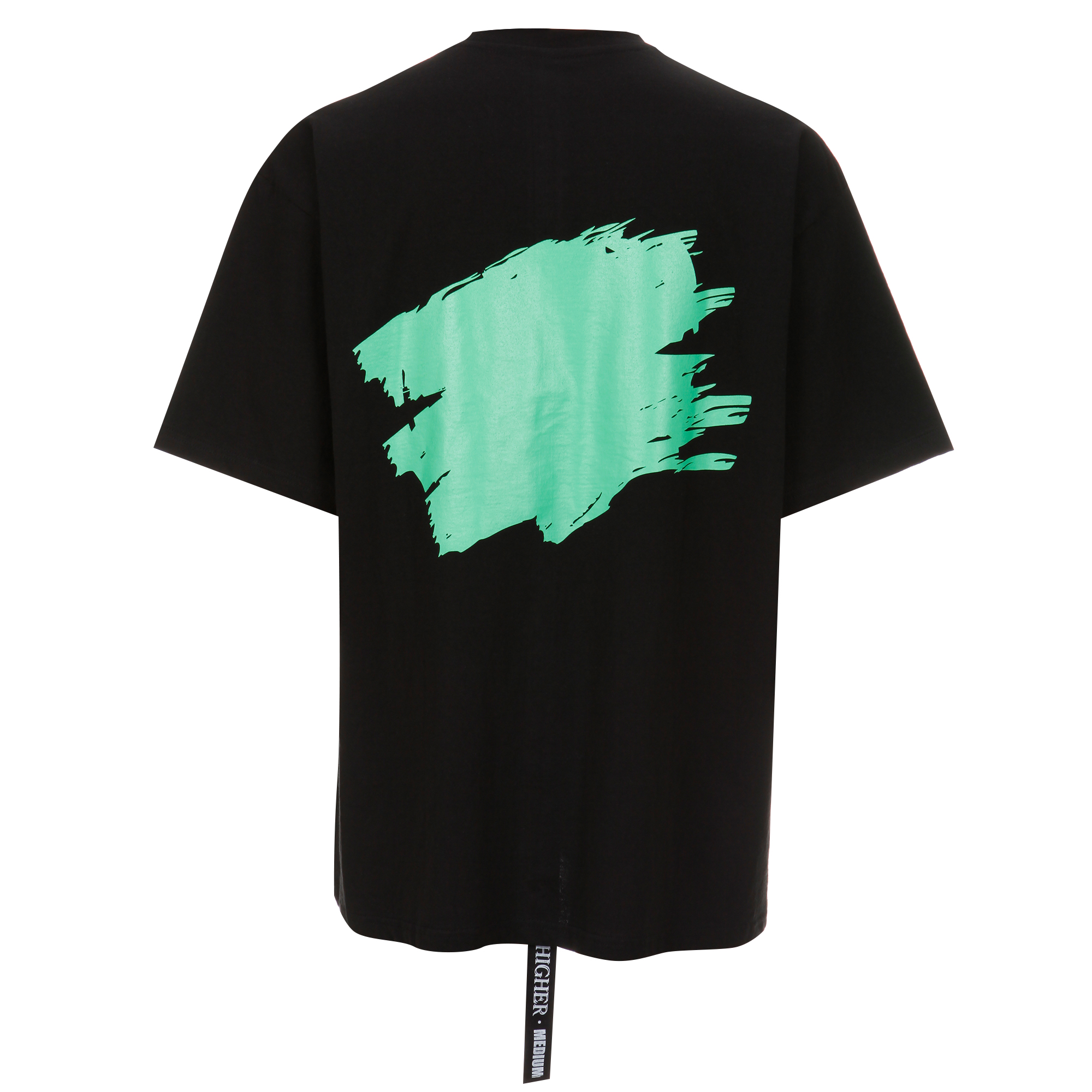 하이어 페인팅 티셔츠 / 그린