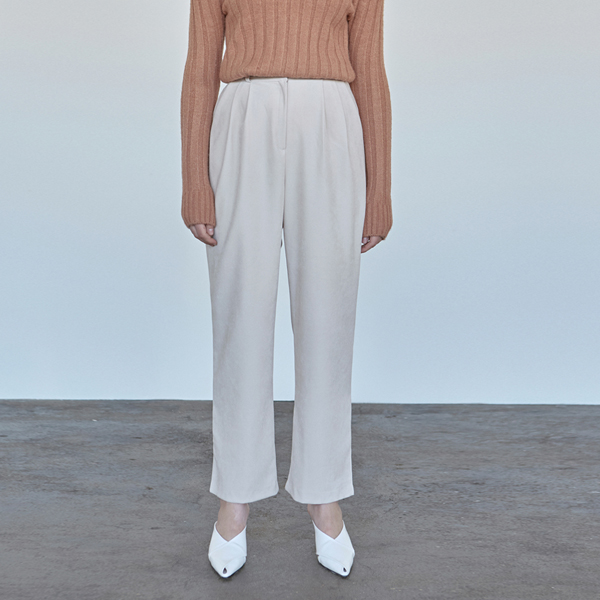 WINTER WIDE LONG PANTS_IVORY