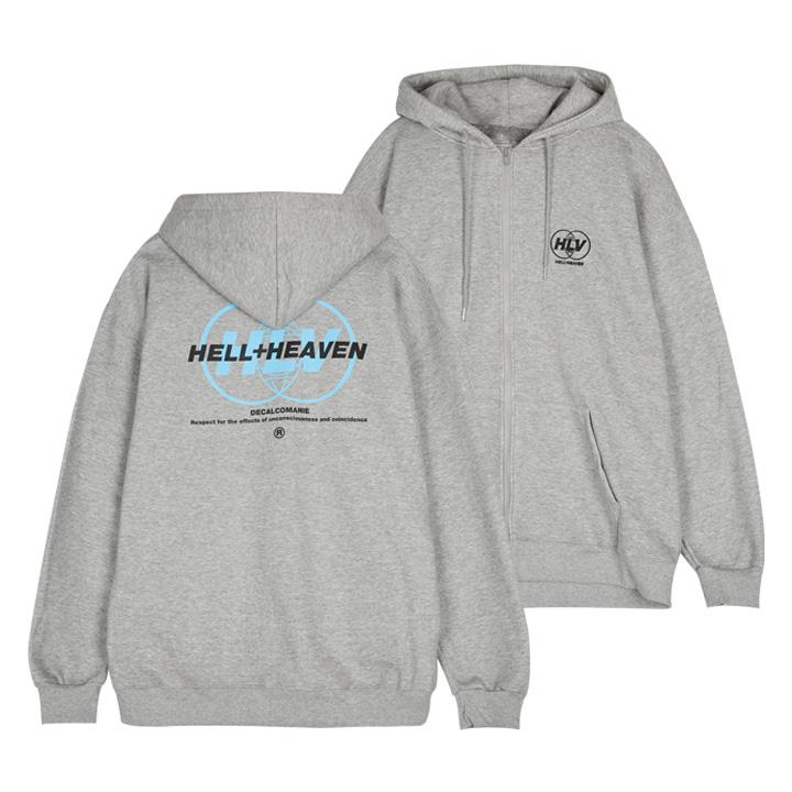 헬븐 - DECALCOMANIE  (SHZH8S-085) - 후드집업