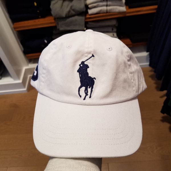 [해외]폴로 랄프로렌 남녀공용 빅포니자수 로고 볼캡 2컬러