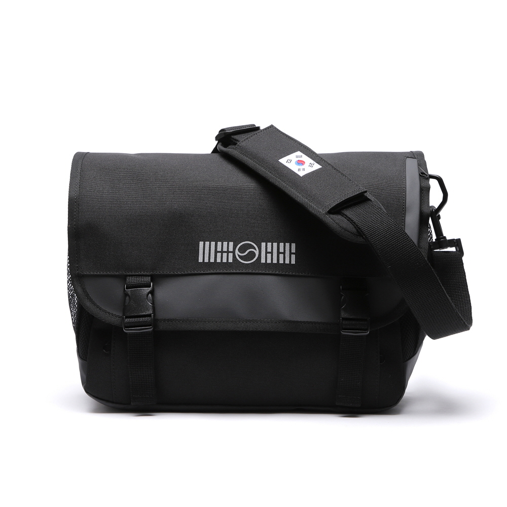 (4월29일 예약발송) SIGNATURE LOGO MESSENGER BAG (KOREA)