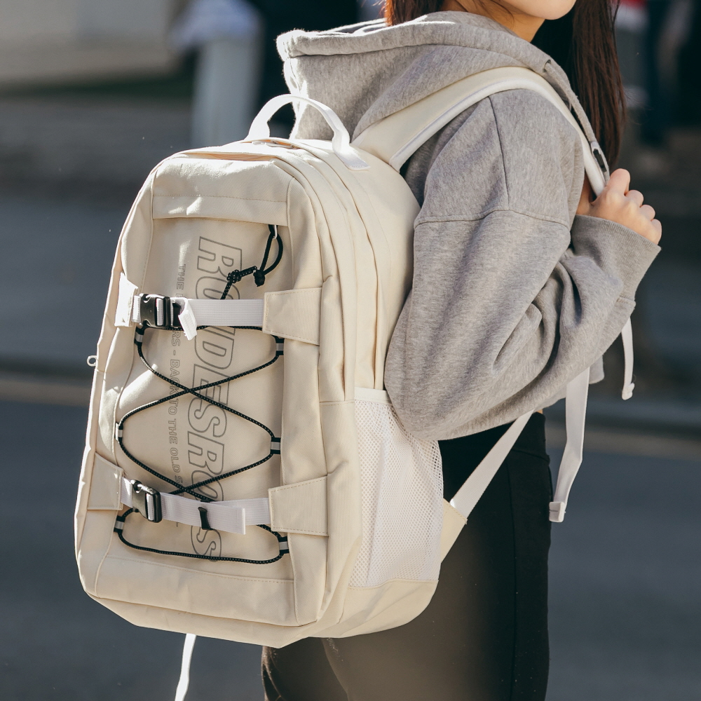 RDR 3D MATRIX BACKPACK (IVORY)