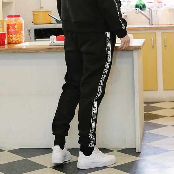 (한정수량)뉴해빗 - taping jogger pants - 테이핑조거팬츠