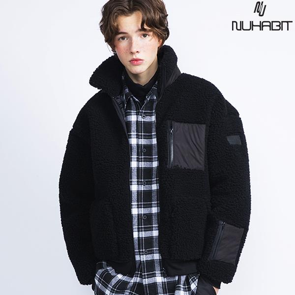 (한정수량)뉴해빗 - 뽀글이 양털 포켓 자켓(안감누빔) - 4color