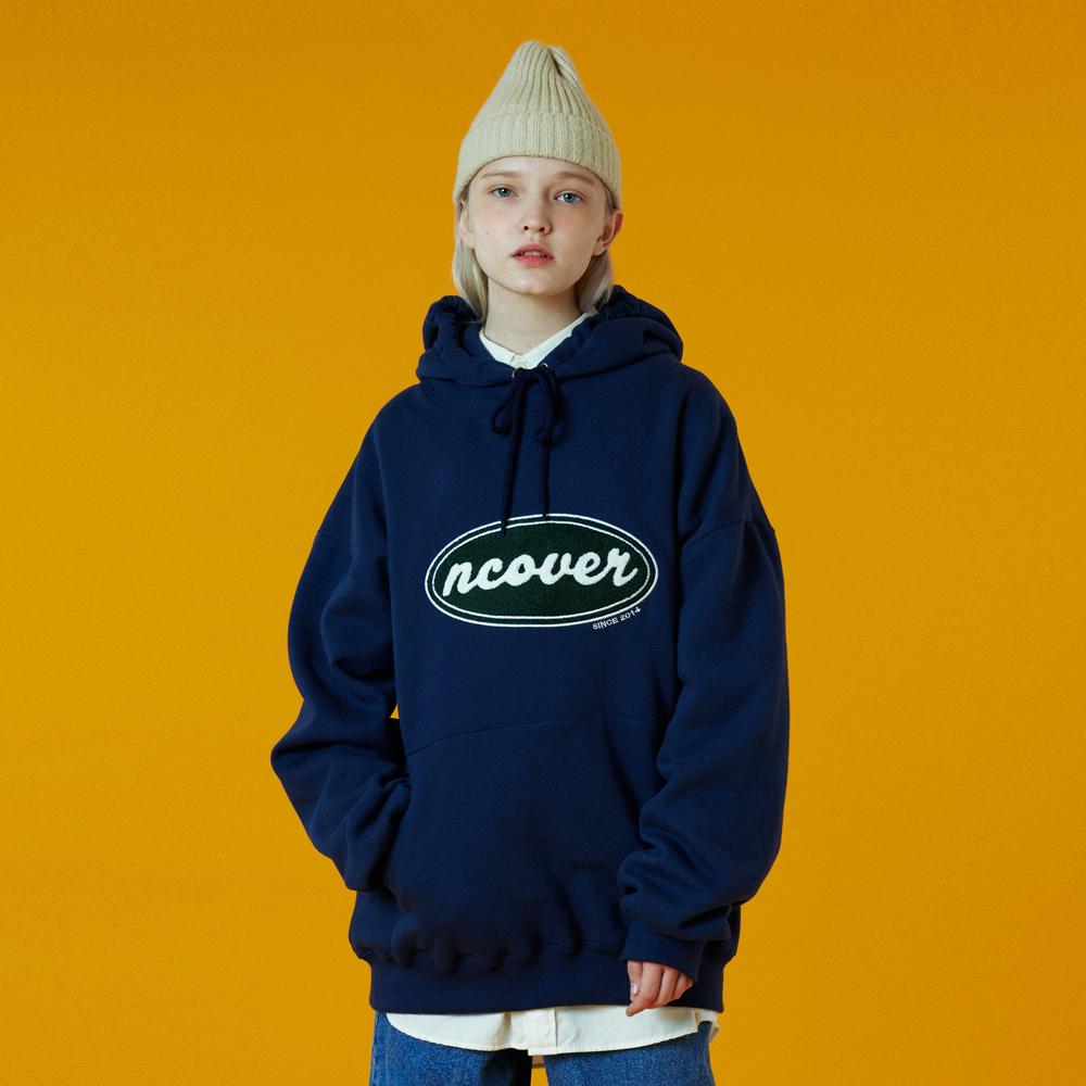 [02/07][N]Original candlewick hoodie-navy