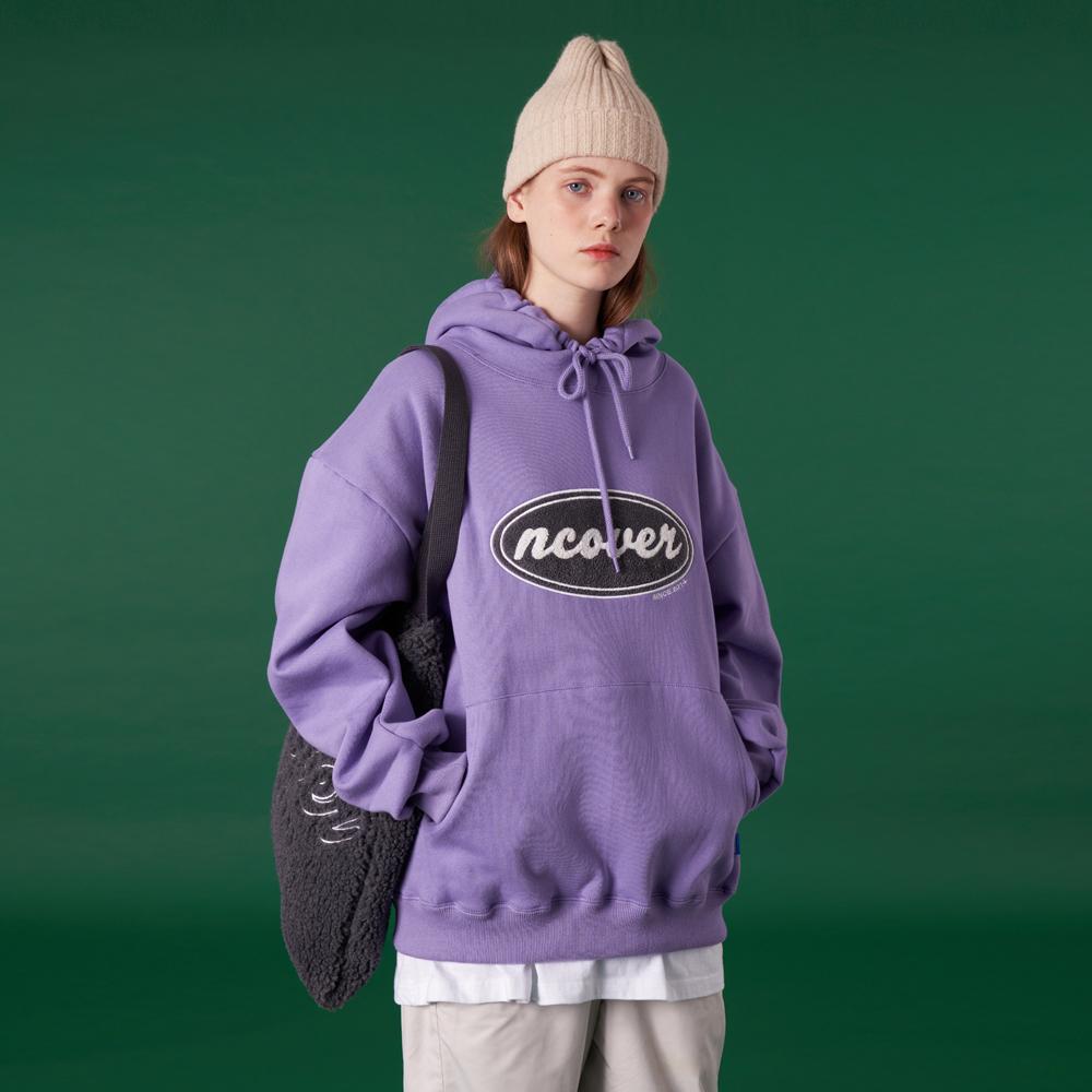 [N]Original candlewick hoodie-light purple