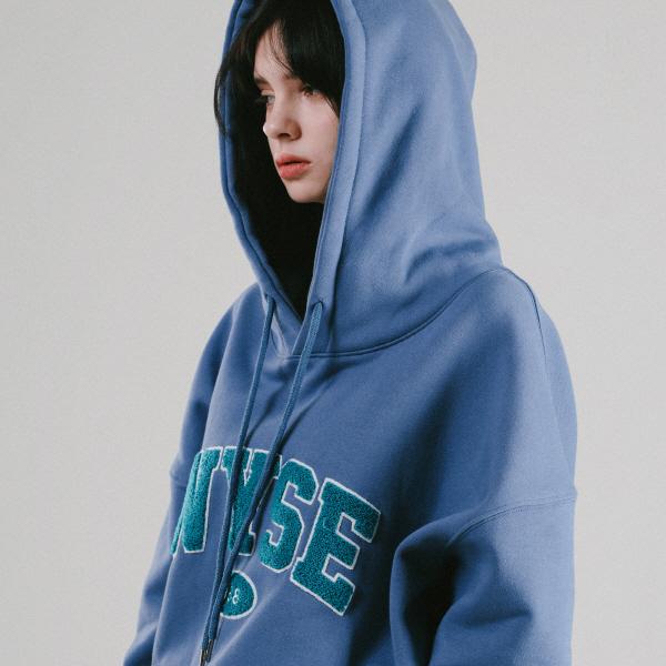 [단독]1988 컬리지 후드 (인디고 블루)