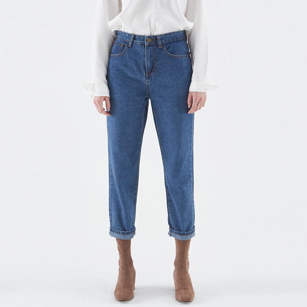SEMI WIDE FIT DENIM PANTS
