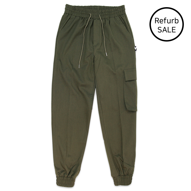 [리퍼브데이] M Royal Cargo-Jogger Pants (KHAKI)