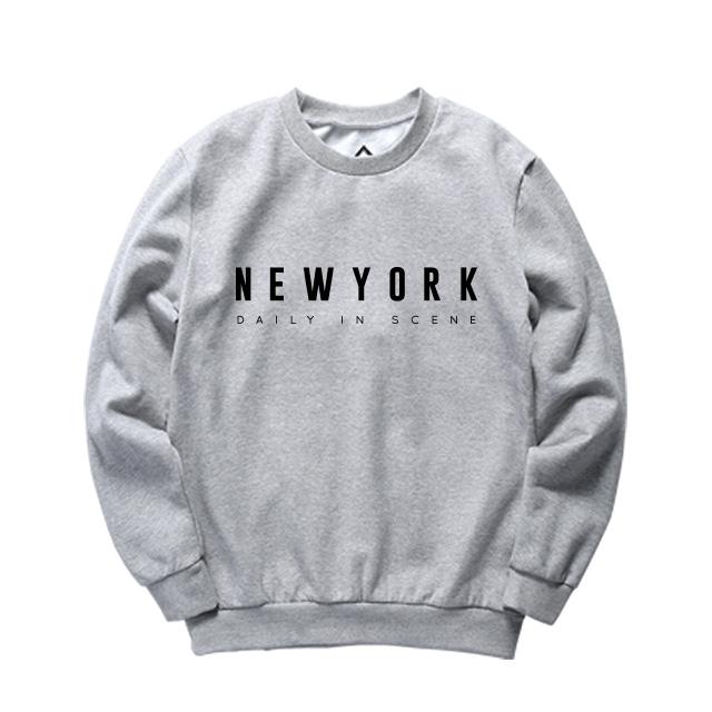 [설날특가]디씬 - NEWYORK - 기모 맨투맨 - (SBMDS-4025)