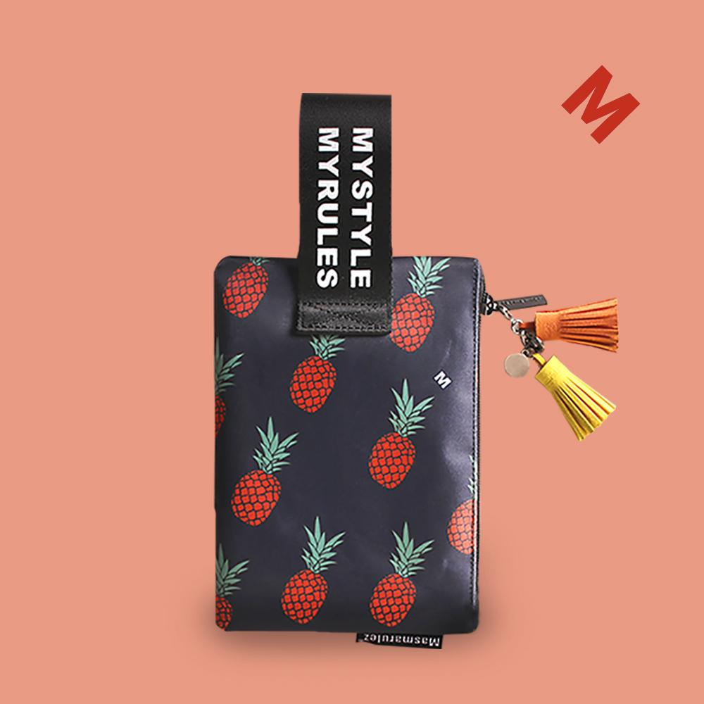 Cute pineapple 마약 스트랩 파우치
