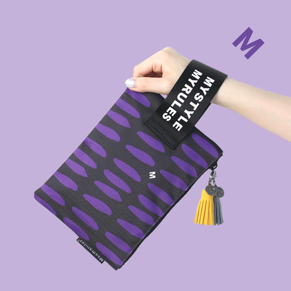 Purple tiger 마약 스트랩 파우치