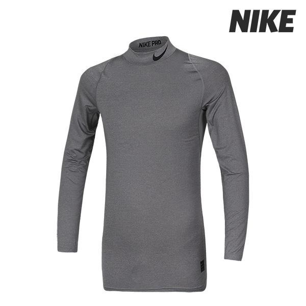 [국내]나이키 롱슬리브 컴프레션 모크 티셔츠 (838079-091)