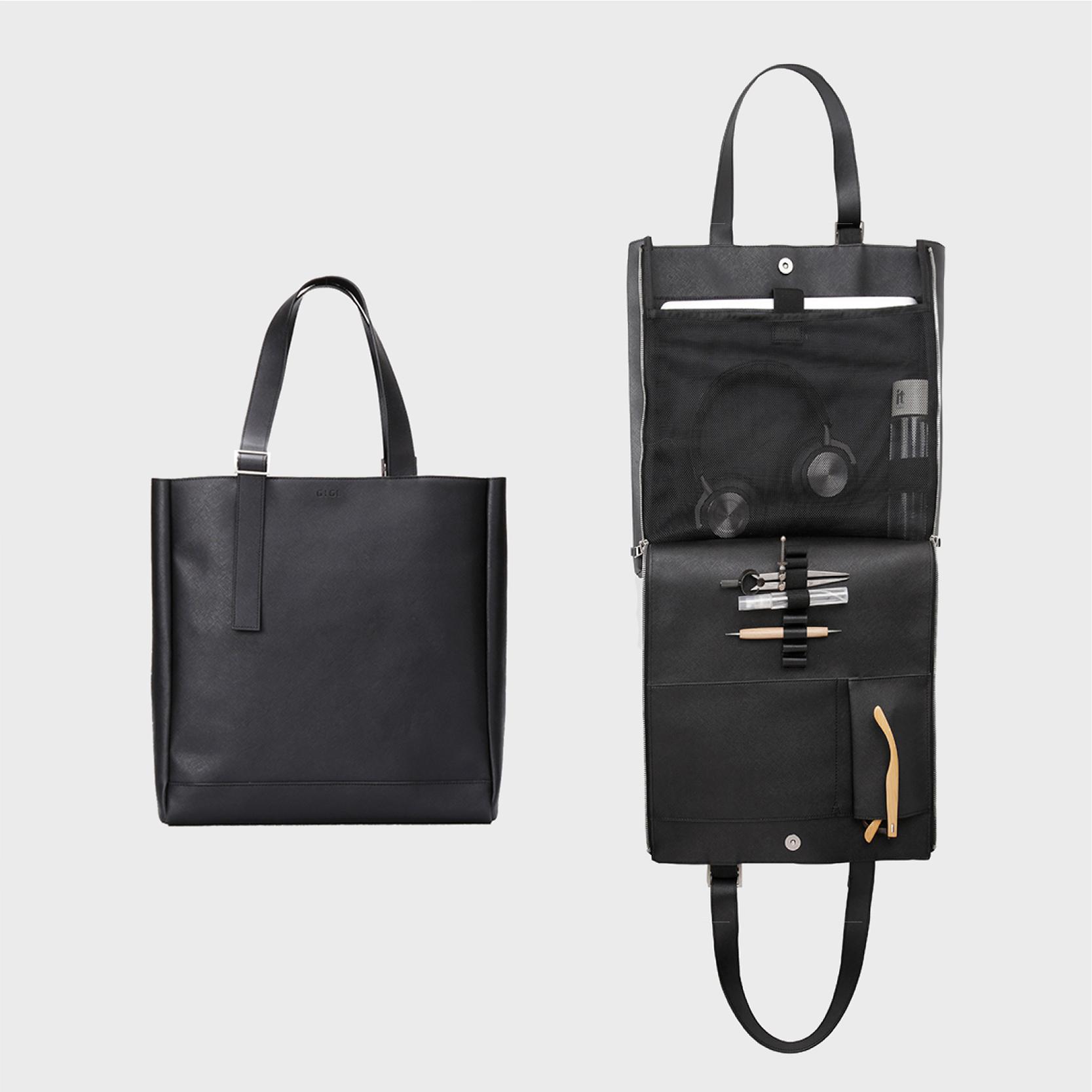 [단독특가]2020. GIGL Makers T : Ver Saffiano Open & Close tote bag