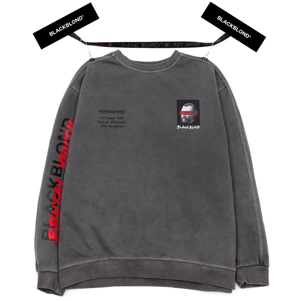 BBD Brutal Training Crewneck Sweatshirt (Charcoal)
