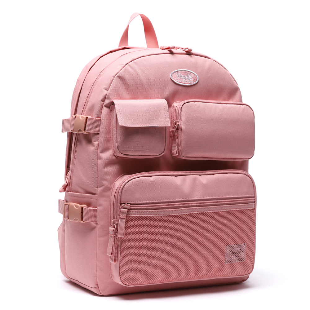 데이라이프 멀티 포켓 백팩 (올 핑크)