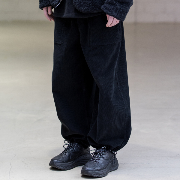 FATIGUE BALLOON JOGGER PANTS MFNCP007-BK