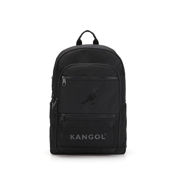 Flash zipped Backpack 1354 BLACK